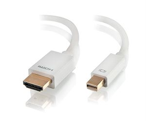 Alogic 2m Mini DisplayPort to HDMI Cable - Male to Male