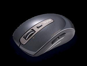 Rapoo 3920P 5G Anti-Interference Wireless Transmisson Laser Mouse Black