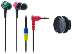 Audio-Technica ATH-CKL203BCZ In-Ear Headphones - Black Crazy