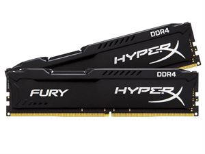 Kingston Hyper X Fury 8GB (2 x 4GB) 2400MHz DDR4 Desktop RAM
