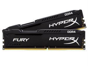 Kingston Hyper X Fury 8GB (2 x 4GB) 2400MHz DDR4 Desktop RAM