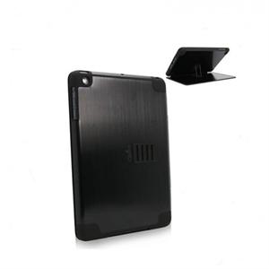 Obien iPad Mini 1 Case/Stand Space Aluminium - Black