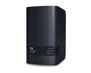 WD 2 Bay My Cloud Ex2 Ultra Nas Media Serve - 12TB
