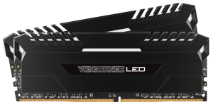 Corsair Vengeance 16GB (2x8GB) DDR4 2666Mhz Desktop RAM- White LED