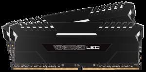 Corsair Vengeance LED 32GB (2x16GB)DDR4 3000MHZ C15 Desktop RAM - White LED
