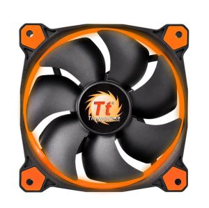 120MM Thermaltake RIING Orange LED Rad Fan