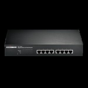 Edimax 8-Port Gigabit Ethernet PoE+ Switch - Fanless