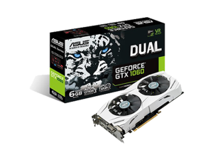 ASUS Dual GeForce GTX 1060 6GB Graphics Card