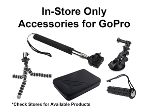 *In-Store Only* Accessories for GoPro | Assorted $1 Bargain Bin