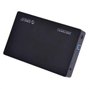 """Orico 3588US3-BK USB3.0 Tool Free 3.5"""" Black HDD Enclosure"""