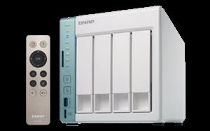 QNAP TS-451A-4G 4-Bay NAS Dual Core CPU