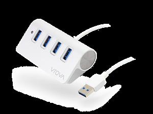 VROVA Elite 4 Port USB3.0 HUB - Aluminium