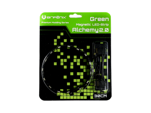 BitFenix Alchemy 2.0 30cm GREEN Magnetic LED Strip