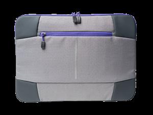 "Targus 14"" Bex II Laptop Sleeve - Grey/Purple"