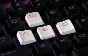 Corsair Gaming Performance FPS/MOBA Key Kit - White