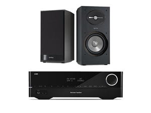 Harman Kardon HiFI System w/ Harman Infinity 162 Speakers