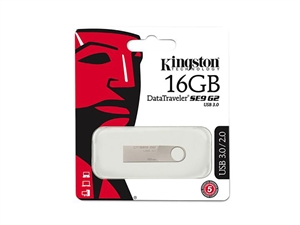 Kingston DataTraveler SE9 G2 16GB USB 3.0 Flash Drive
