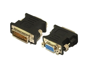 Goldwire DVI-I (M) to VGA (F) Adapter