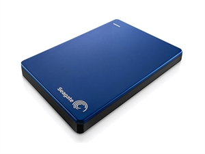 Seagate Backup Plus Slim 1TB USB 3.0 Portable External Hard Drive - Blue