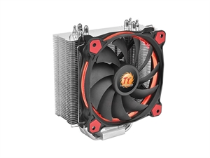 Thermaltake Riing Silent 12 CPU Cooler - Red (COOLER CANT BE SHIPPED IN CUSTOM BUILD)