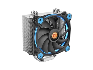 Thermaltake  Riing Silent 12 CPU Cooler - Blue (COOLER CANT BE SHIPPED IN CUSTOM BUILD)