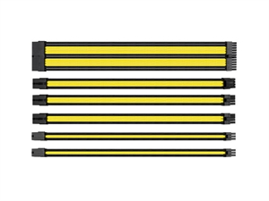 Thermaltake TtMod Sleeve Cable Set - Yellow/Black