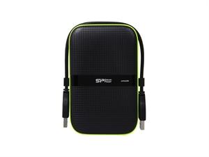 Silicon Power 1TB Armor A60 2.5'' Portable Hard Drive - Black