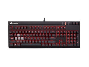 Corsair Gaming Strafe Mechanical Gaming Keyboard - Cherry MX Red Switches