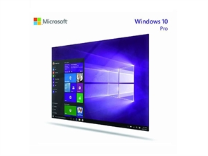 Microsoft Windows 10 Professional 64-Bit OEM With DVD - English