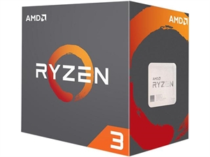 AMD Ryzen 3 1200 Processor with Wraith Stealth Cooler