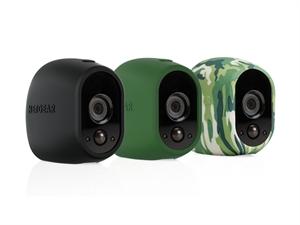 Netgear Arlo Replaceable Multi-colored Silicone Skins - Black, Green, Camo