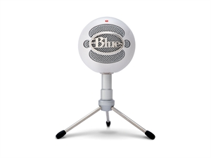 BLUE Snowball Ice Versatile USB HD Audio Microphone - White