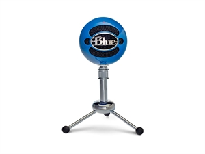 BLUE Snowball Professional USB Microphone - Blue
