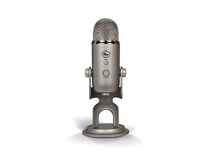 BLUE Yeti 3-Capsule USB Microphone - Platinum