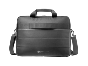 HP 15.6 Classic Briefcase and Wired Mouse Bundle