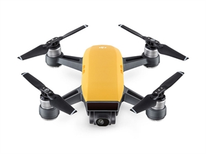 DJI Spark Mini Drone Combo - Yellow