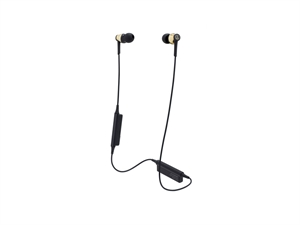Audio-Technica ATH-CKR35BT Bluetooth Wireless In-Ear Headphones - Gold