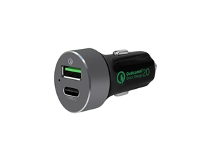 Mbeat QuickBoost C Certified QC 2.0 & USB-C Car Charger
