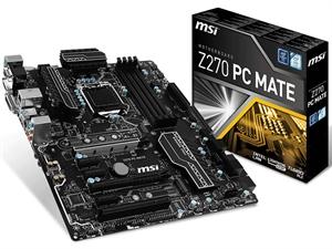 MSI Z270 PC Mate Intel Motherboard