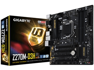 Gigabyte Z270M-D3H Intel Motherboard