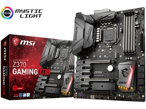 MSI Z370 Gaming M5 Intel 8th Gen Motherboard
