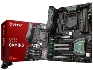 MSI X299 Gaming M7 ACK Intel LGA 2066 Motherboard