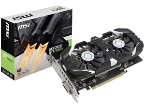MSI GeForce GTX 1050 Ti 4G OCV1 Graphics Card