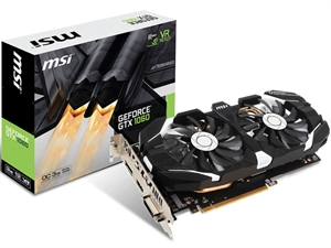 MSI GeForce GTX 1060 3GT 3GB OC Graphics Card