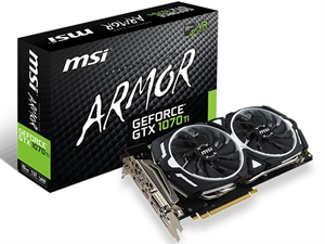MSI GeForce GTX 1070 Ti ARMOR 8GB Graphics Card