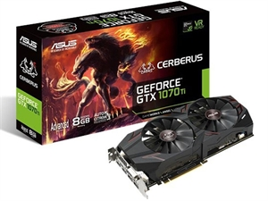 ASUS Cerberus GTX 1070 Ti 8GB Advanced Gaming Graphics Card