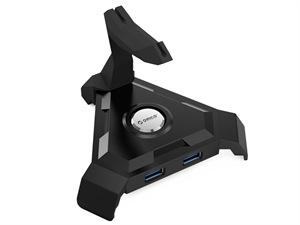 ORICO Multipurpose Mouse Cord Management Hub - Black