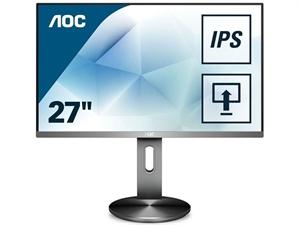 "AOC I2790PQU/BT 27"" IPS FHD Flicker Free LED Monitor"