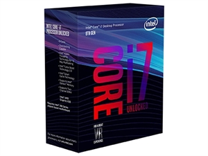 Intel Core i7 8700K 3.7GHz 8th Gen CPU