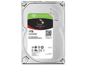 "Seagate Ironwolf 1TB 3.5"" NAS Hard Drive - ST1000VN002"